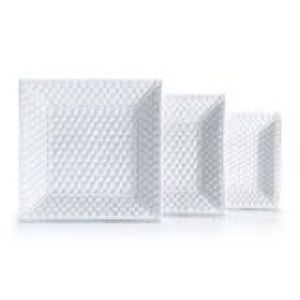 Tiffany & Co. Kitchen - Tiffany & Co 3 TIFFANY WEAVE White Nesting Trays